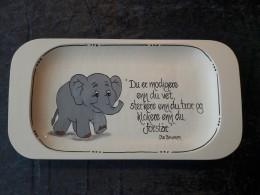 Fat m/elefant