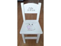 Barnestol med harepus